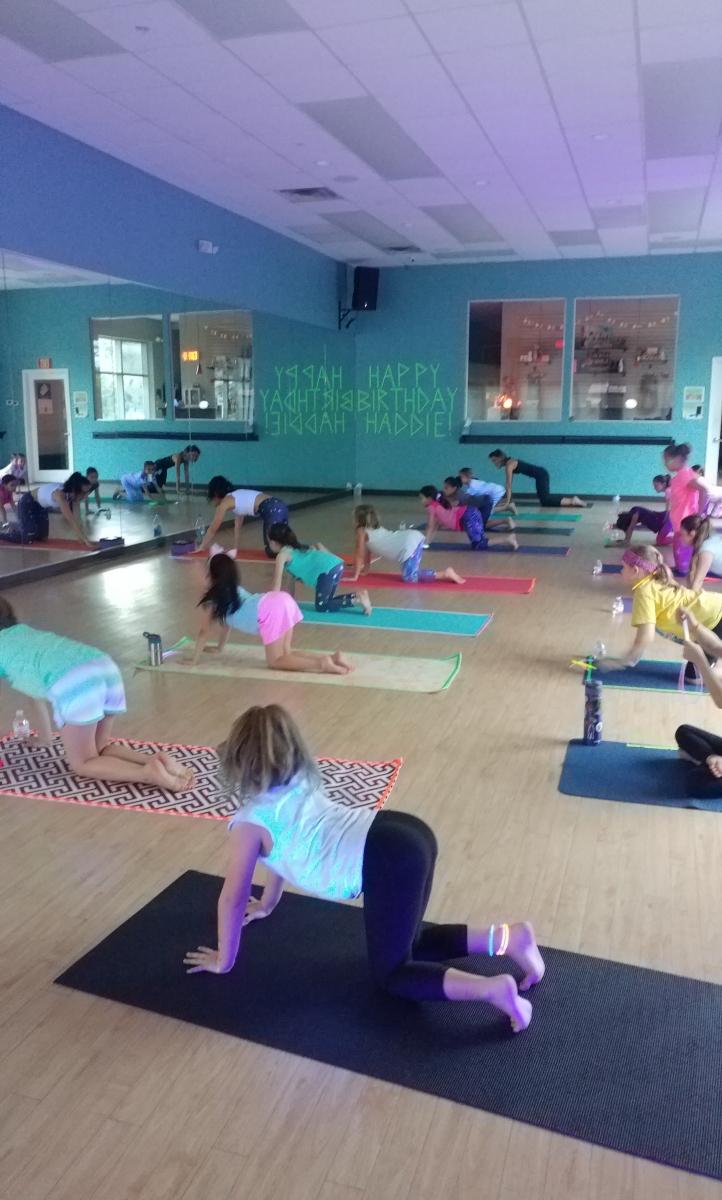 Glow Yoga Parties | Hot Yoga Sarasota