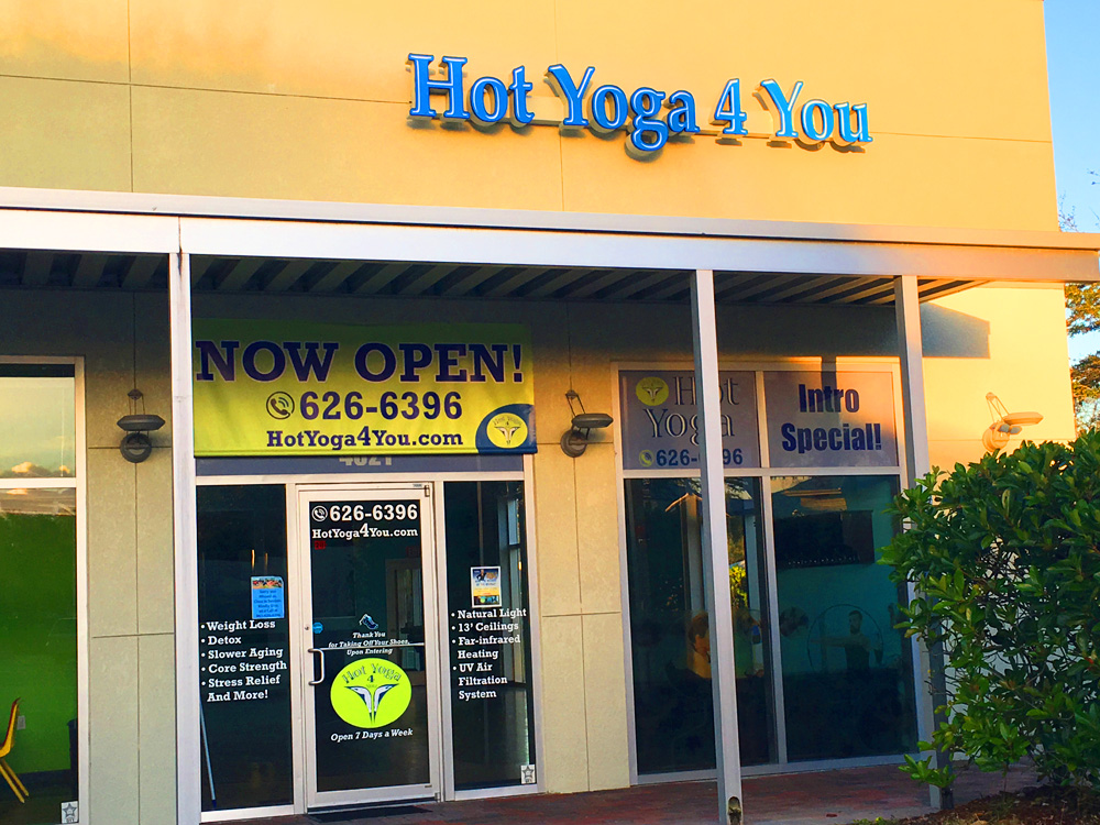 Take a look inside our studio – Sarasota Hot Yoga Studio