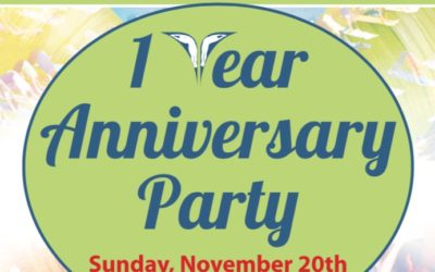 One Year Anniversary Party!