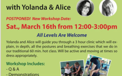 Workshop with Yolanda and Alice (Mar 2019)