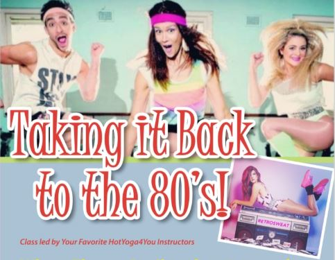 Taking it Back to the 80s! (Apr 2019)