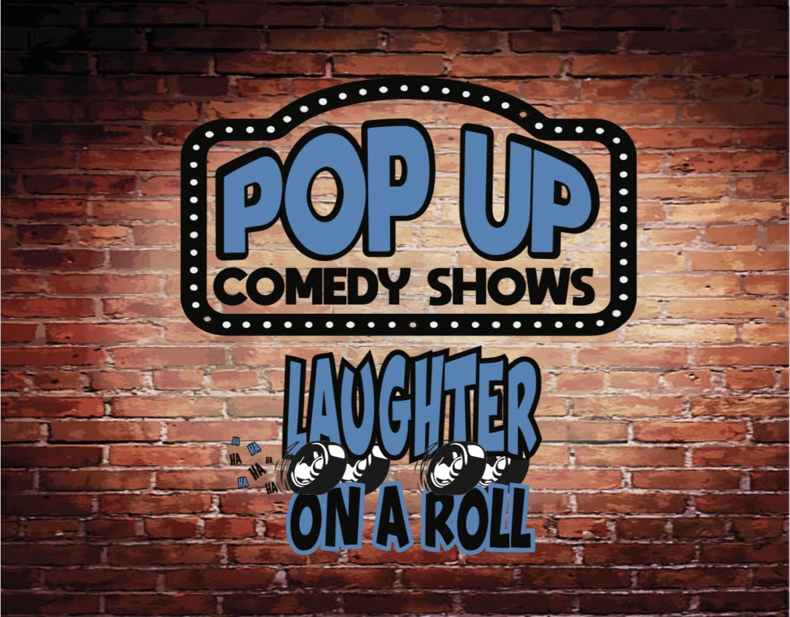 Pop Up Comedy Shows (April 23, 24, 25, 2021)