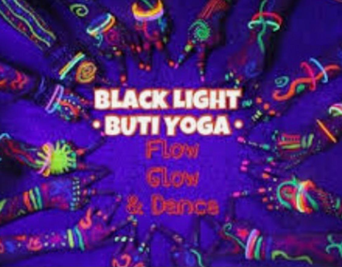 Black Light Buti Yoga (August 7th)